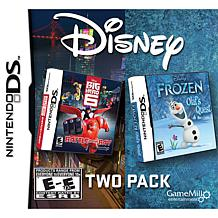 """""""Frozen: Olaf's Quest"""" and """"Big Hero 6"""" Game 2-pack"""