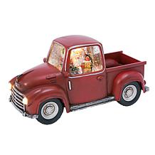 """Gerson 8.75""""L Battery-Operated Water Globe Truck with Timer Feature"""