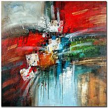 Rio 'Cube Abstract IV' Canvas Art Print