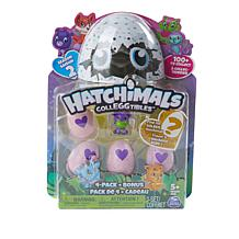 Hatchimals CollEGGtibles 4-pack Blind Eggs + Hatched Friend