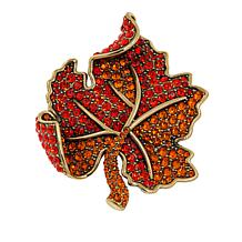 Hdaus Lavish Leaf Pin