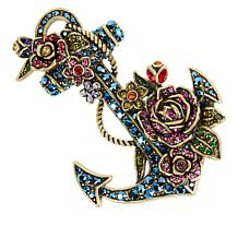 "Heidi Daus ""Blooming Anchor"" Pin"