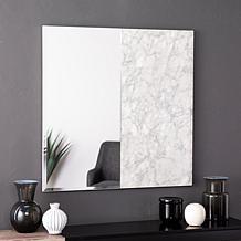 Holly & Martin Bowers Square Decorative Mirror - White