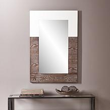 Holly and Martin Wagars Mirror - Burnt Oak White