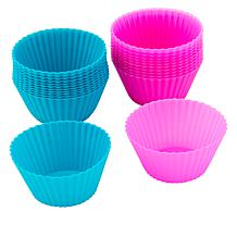 Holstein Fun 24-Piece Silicone Baking Cups Set