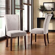 Home Origin Smoky Pearl Dining Chairs - Set of 2