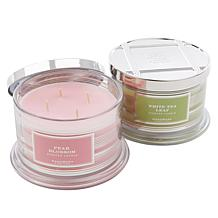 HomeWorx by Harry Slatkin 2-pack 4-Wick Candles - Floral Collection
