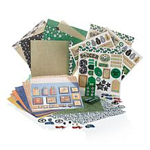 Hotp Soccer Paper Craft Kit