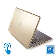 "HP 15.6"" Touch Intel Quad-Core Laptop w/5-Year Tech Support & TaxAct"