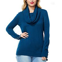 IMAN Comfy Chic Sweater and Circle Scarf