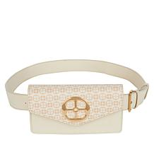 IMAN Global Chic Convertible Logo Belt Bag