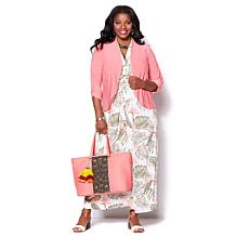 IMAN Global Chic Luxury Resort Cascading Cardigan