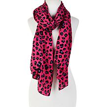 IMAN Global Chic Luxury Resort Leopard-Print Scarf