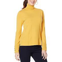 IMAN Global Chic Pullover Turtleneck Sweater