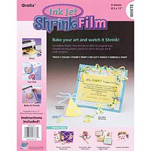 Ink Jet Shrink Film 6-pack - White