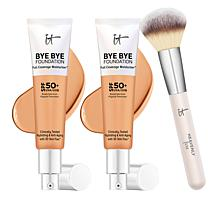 IT Cosmetics 2-pack Bye Bye Foundation Moisturizer