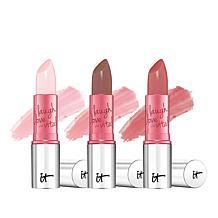 IT Cosmetics 4-in-1 Lip Flush Hydrating Stain Lipstick Trio