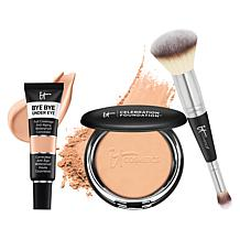 IT Cosmetics Celebration Foundation & Bye Bye Under Eye 3-piece Set