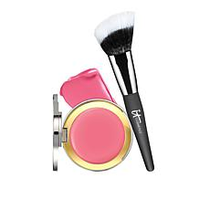 IT Cosmetics Je Ne Sais Quoi CC+ Anti-Aging Blush & Brush