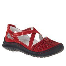 Jambu Originals Pine Casual Nubuck Leather Mary Jane Shoe