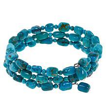 Jay King Azure Peaks Turquoise Coiled Bracelet