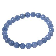 Jay King Blue Anhydrite Bead Stretch Bracelet