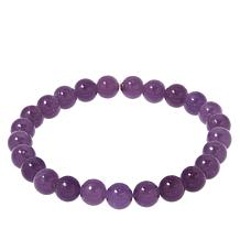 Jay King Purple Lepidolite Bead Stretch Bracelet
