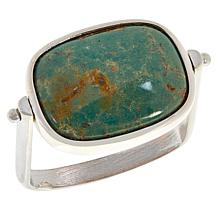 Jay King Sterling Silver Turquoise and Gem Doublet Reversible Ring