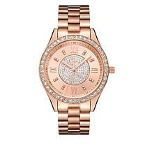 "JBW ""Mondrian"" 16-Diamond Rosetone Bracelet Watch"