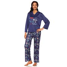 Jeffrey Banks 2-piece Pajama Set