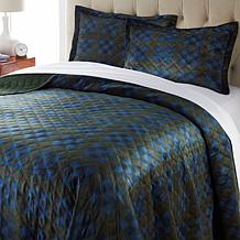 Jeffrey Banks Velvet Soft Quilt Set