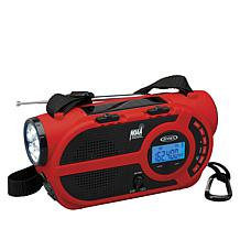 Jensen JEP-650 Portable Weather Alert 4-Way Power Radio & Flashlight