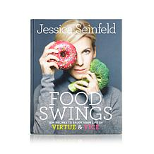 "Jessica Seinfeld ""Food Swings"" Handsigned Cookbook"
