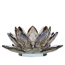 JM by Julien Macdonald Lotus Flower Crystal Candle Holder