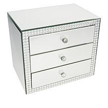 JM by Julien Macdonald Three Drawer Jeweled Box