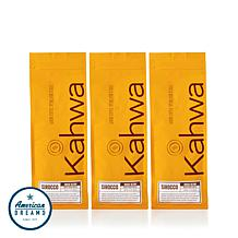Kahwa Coffee Sirocco Blend Whole Bean 3-pack