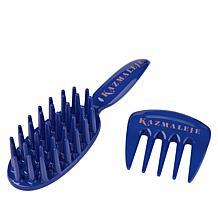 KAZMALEJE KurlsPlus Hair Detangling 2-piece Set