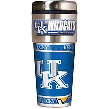 Kentucky Wildcats Travel Tumbler w/ Metallic Graphics and Team Logo