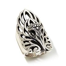 King Baby Jewelry Raven Sugar Skull Ring