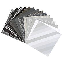 """Kingston Crafts Everyday Black & White 12"""" x 12"""" Paper Pad - 60 Sheets"""