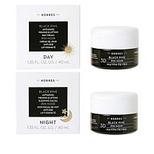 Korres Black Pine 3D Firming & Lifting Day and Night Duo