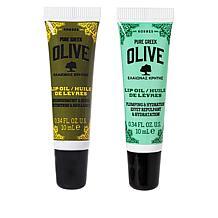 Korres Olive Lip Oil Original + Plumping Set