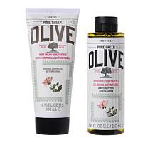 Korres Olive Oil & Honeysuckle 2-piece Bath and Body Set