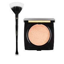 Lancôme Peach Highlighter and Brush Set