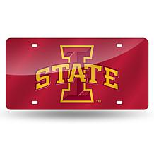 Laser Tag License Plate - Iowa State University