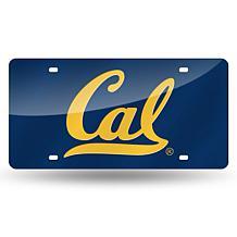 Laser Tag License Plate - University of California at Berkeley (Blue)