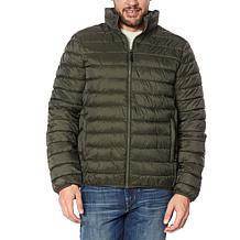 Laurier Men's Packable Zip-Front Puffer Jacket