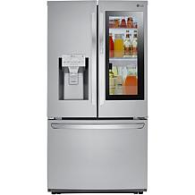 LG 22 Cu.Ft. Smart InstaView Door-in-Door Counter-Depth Refrigerator
