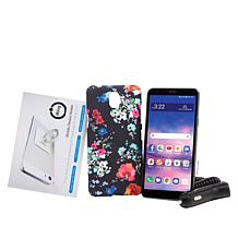 """LG Journey 32GB 5.45"""" HD+ Tracfone with 1500 Min/Text/Data for 1 Year"""