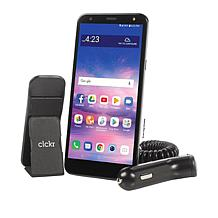 """LG Solo LTE 5.7"""" HD+ Tracfone w/1500 Minutes/Texts/Data for 365 Days"""